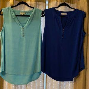 TWO - Dana Buckman Sleeveless Blouse XL